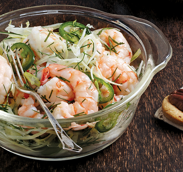Shrimp with Fennel